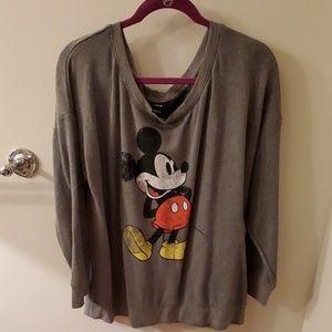 Torrid Mickey sweatshirt